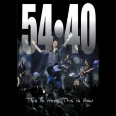 54-40 - This Is Here, This Is Now DVD