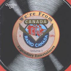 176143001027- We're From Canada - Digital [mp3]